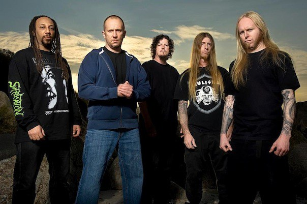 "Picture of the band ""Suffocation"""